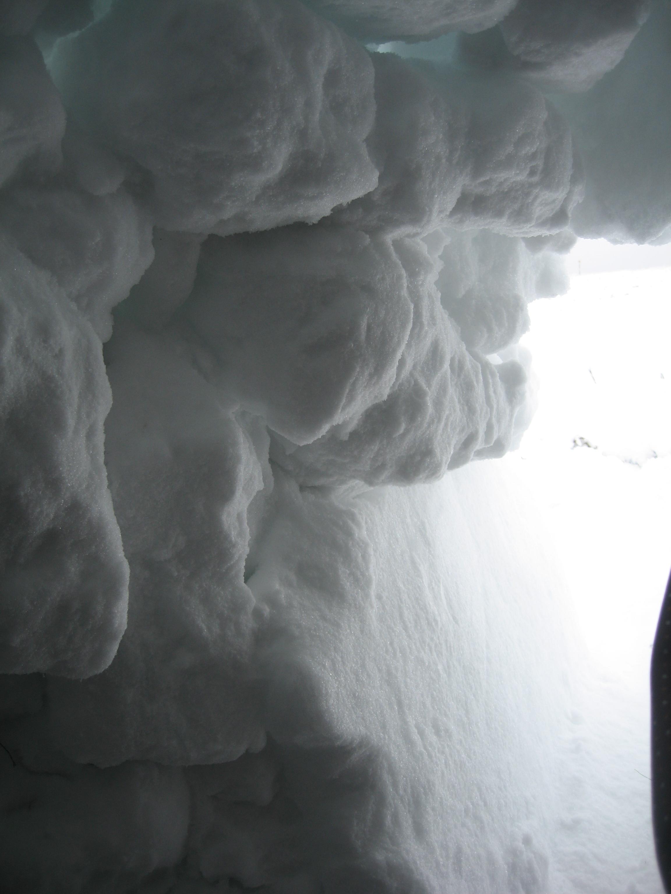 Входа на иглуто отвътре